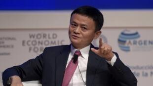 Jack Ma, le fondateur et patron d'Alibaba à Buenos Aires, le 12 décembre 2017.