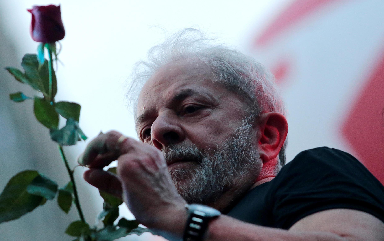 Luis Inacio Lula da Silva (Parti des travaileurs), le 24 janvier 2018 à Sao Paulo.