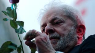 Lula da Silva, cựu tổng thống Brazil, tại Sao Paulo, ngày 24/01/2018