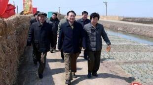 Choe Ryong-hae, le nouveau chef d'État nord-coréen, ici le 9 avril 2019 à Sariwon.