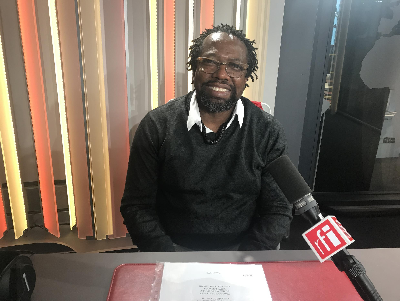 ED'Son, músico brasileiro na RFI a 9 de Março de 2018.