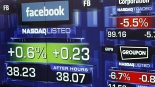 2012年5月18日,facebook在纳斯达克上市。