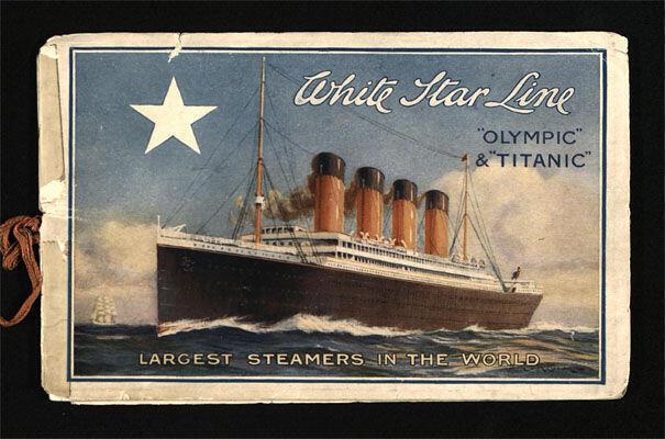 從4月12日至8月29日展出20多件手跡和文字資料,紀念泰坦尼克號沉沒100周年。