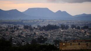 Cidade do Lubango. Imagem de arquivo.