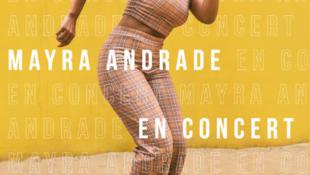 Mayra Andrade em concerto em Paris esta terça-feira, 23 de Outubro, com lotação esgotada.