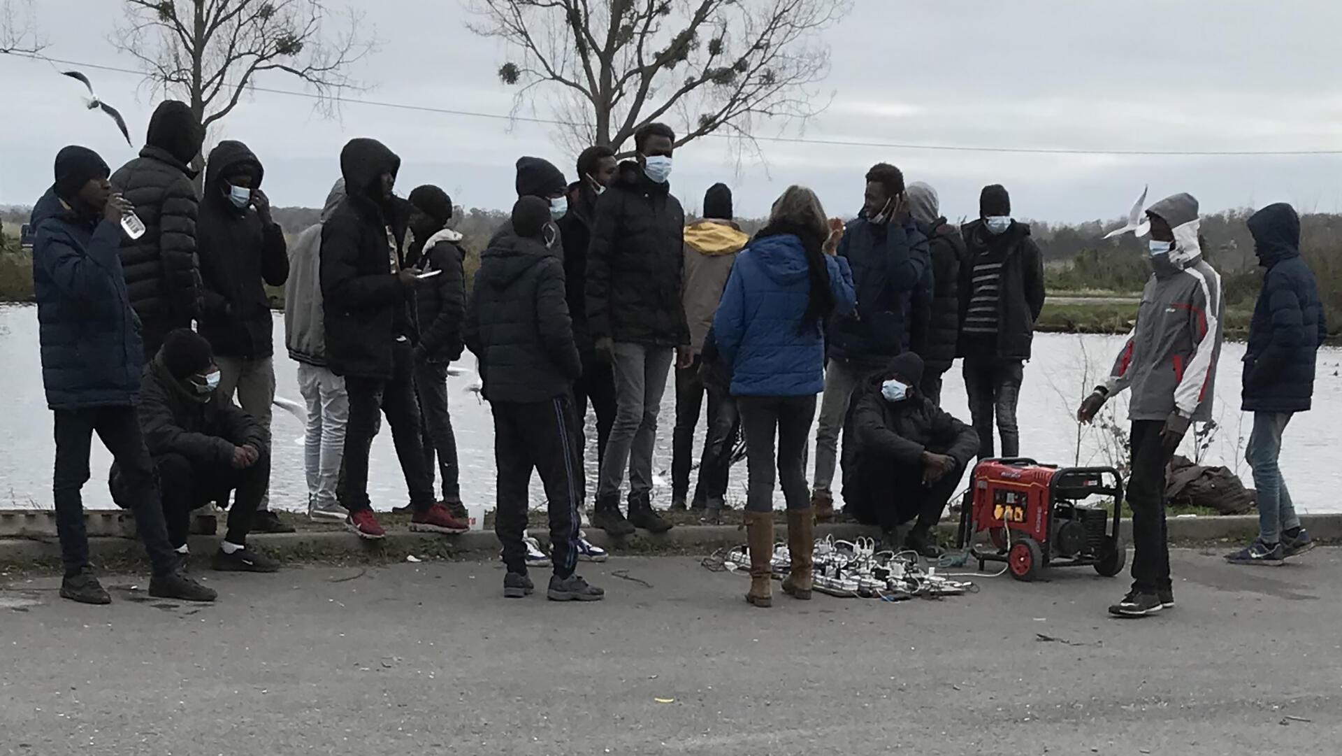 France - migrants soudanais - Ouistreham - Grand reportage - Martin Guez