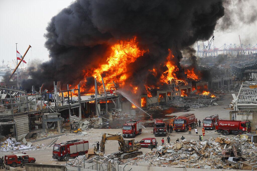 Incêndio Líbano