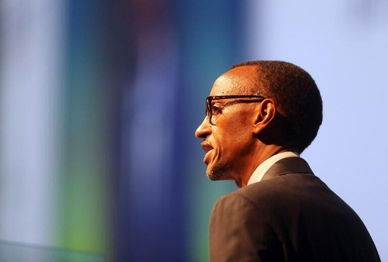 Le président rwandais Paul Kagame.