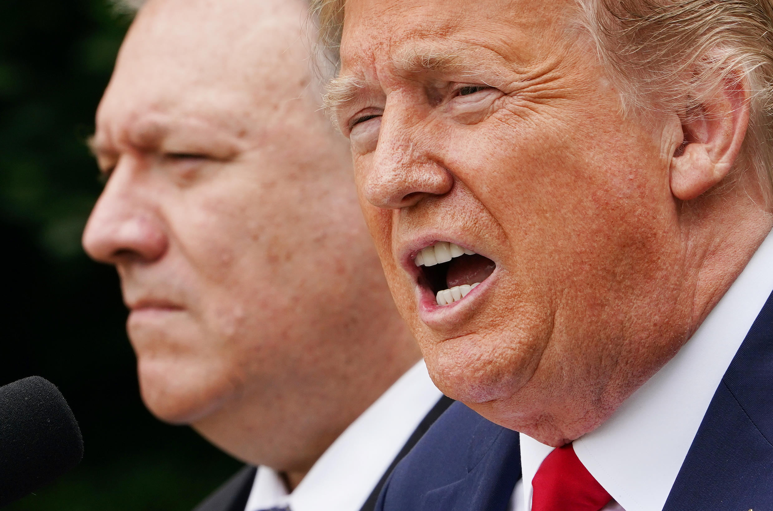 The cancelled diplomatic trips round off four tumultuous years of foreign policy under President Donald Trump that tested Washington's traditional allies in both Europe and Asia