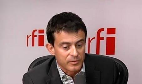 O ministro Manuel Valls, ex-prefeito de Evry.