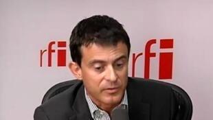 Manuel Valls, ministre français de l'Intérieur.