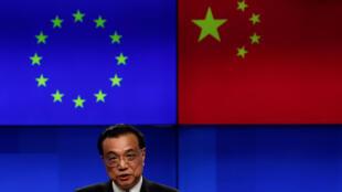 2019年4月9日,中國總理李克強,於布魯塞爾