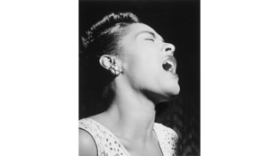 Portrait de Billie Holiday.