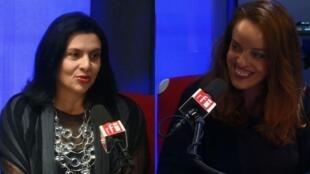RFI Convida as fundadoras do site Paris Mania Helen Kupfer-Haas (esq.) e Isabel Brossolette Branco.