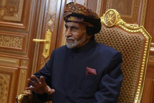 Le sultan Qabous, fer-de-lance, de cette la politique médiatrice omanaise, ici en janvier 2019.