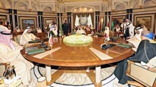 Les dirigeants des pays du Golfe réunis à Riyad le 10 mai 2011