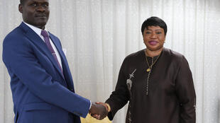 International Criminal Court prosecutor Fatou Bensouda is in Sudan, where she met with Justice Minister Nasredeen Abdulbari on Sunday