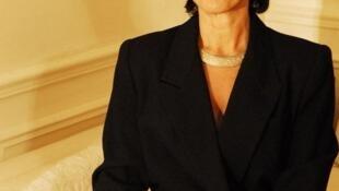 L'écrivain franco-iranienne Fariba Hachtroudi