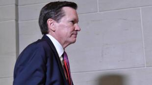 Michael Atkinson, inspector general de la comunidad de inteligencia de Estados Unidos, fue separado del cargo por el presidnte Donald Trump