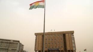 Parlamento do Curdistão iraquiano, Erbil. 29 de Outubro de 2017.