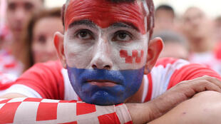 Zagreb, le 15 juillet 2018. La déception se lit naturellement chez les Croates, qui ont cru en la possibilité d'un sacre. Seul Luka Modric sera finalement récompensé pour son parcours.