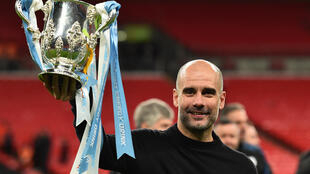 Manchester City manager Pep Guardiola steered the side to the 2020 League Cup as well as the last 16 of the Uefa Champions League and the last eight of the FA Cup.