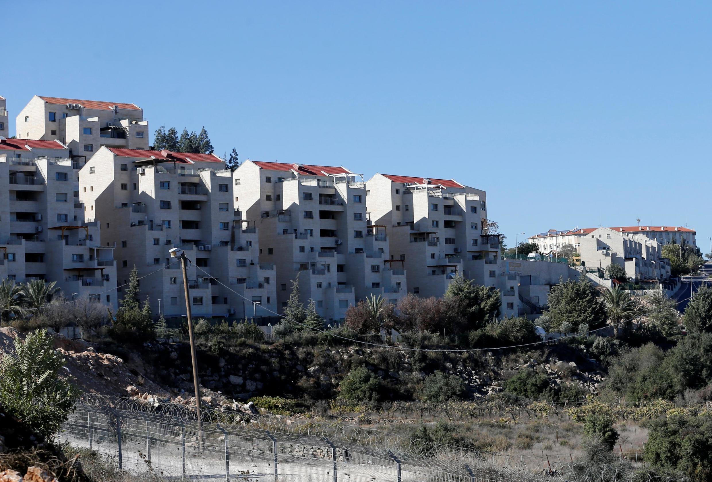 La colonie juive de Kiryat Arba à Hébron, en Cisjordanie sous occupation israélienne. (Image d'illustration)