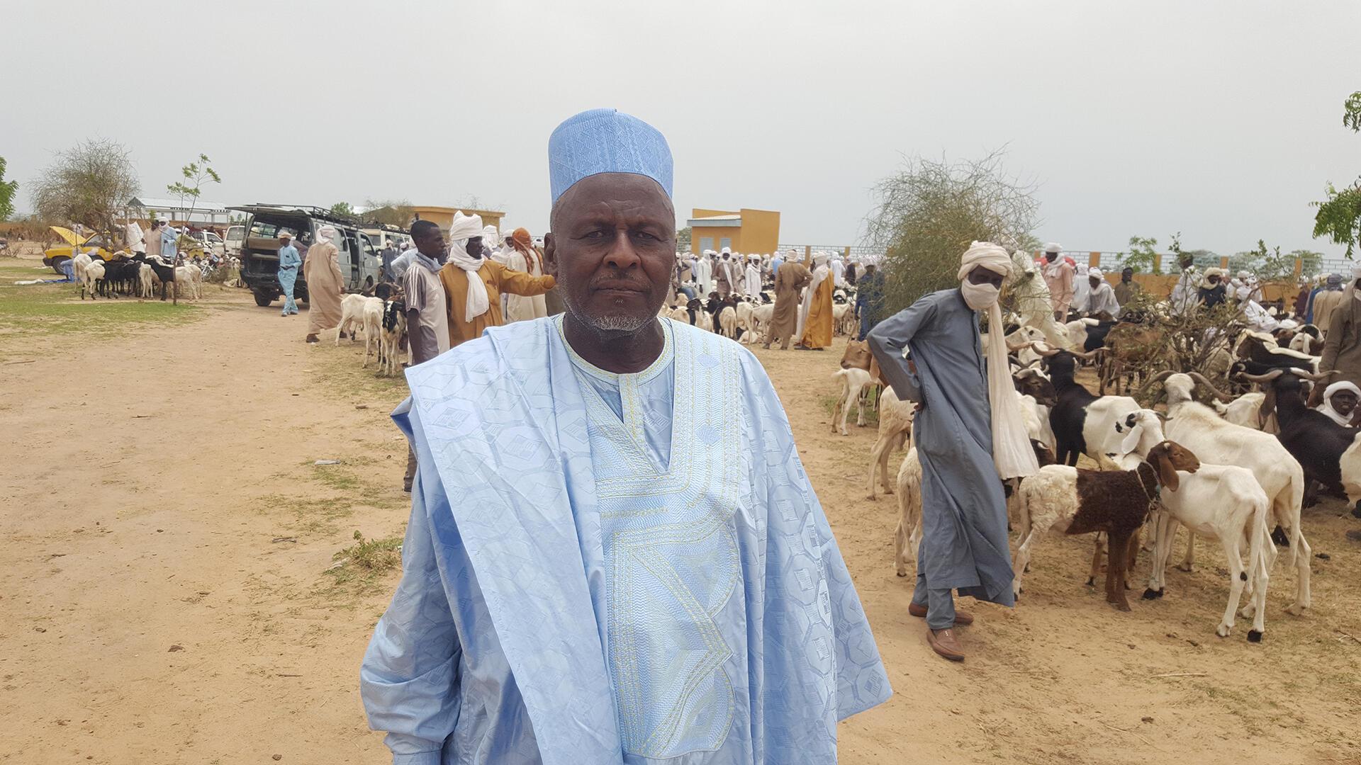 Tchad - Al Hadj Taher Adam, marchand de bétail, membre de la Coges - Le coq chante 1er août 2021