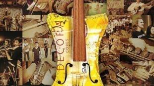 Detalle del afiche del documental 'Landfill Harmonic' sobre la  Orquesta de Instrumentos Reciclados de Cateura, de Graham Townsley.