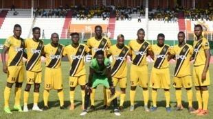 Les joueurs de l'ASEC Mimosas en janvier 2019.