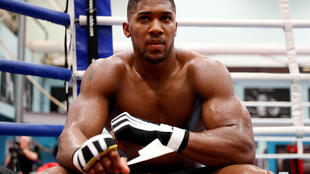 Britain's Anthony Joshua in October 2017