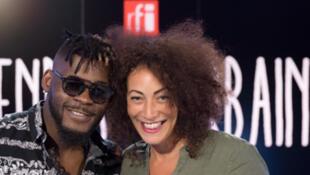 DJ Arafat et Juliette Fievet.