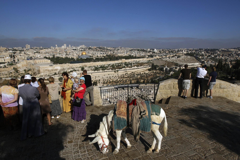 Questão de Jerusalem esta no centro das negociações Israel-Palestina.