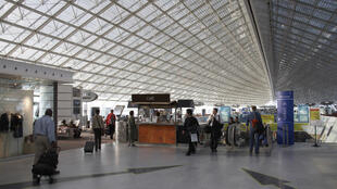 Roissy-Charles de Gaulle airport in Paris.