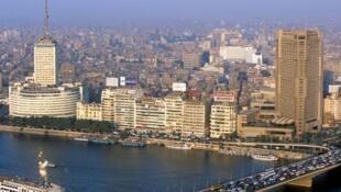 Le centre-ville du Caire et le Nil. (photo d'illustration)