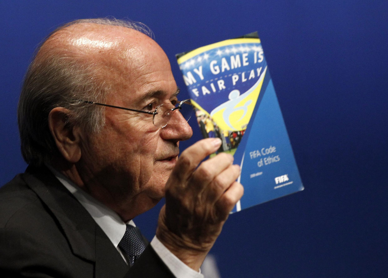 Joseph Blatter se prepara para um quarto mandado à frente da Fifa