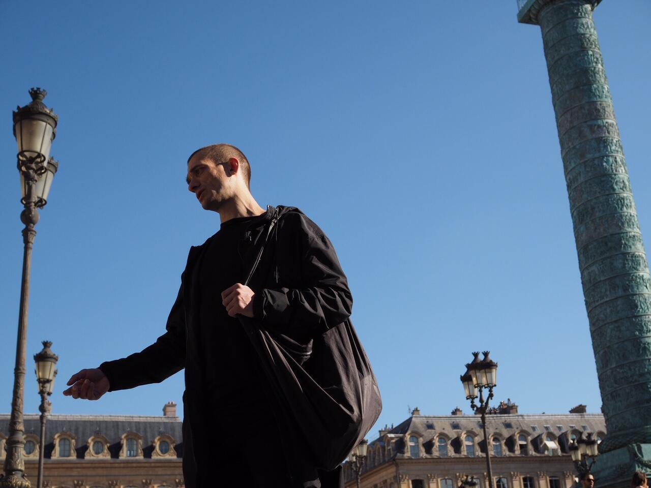 L'artiste performeur russe Piotr Pavlenski.