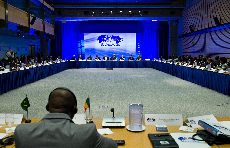 Lors d'une précédente réunion de l'Agoa, en 2014. Les exportations d'Afrique subsaharienne sous l'AGOA, hors hydrocarbures, ont totalisé 4,2 milliards de dollars sur l'année 2016.
