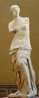 """""""La Venus de Milo"""" se estimó en mil millones de euros."""
