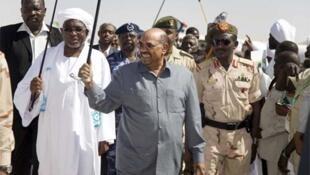 Omar el-Beshir Shugaban kasar Sudan a yankin Darfur