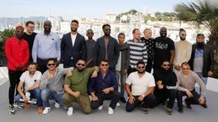 Đoàn làm phim Les Misérables (Những người khốn khổ) tham gia Liên hoan phim Cannes lần thứ 72, ngày 16/05/2019.