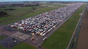 Camionistas - Reino Unido - França - Fronteiras - Motoristas