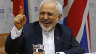 Javad Zarif, ministro iraniano dos Negócios Estrangeiros