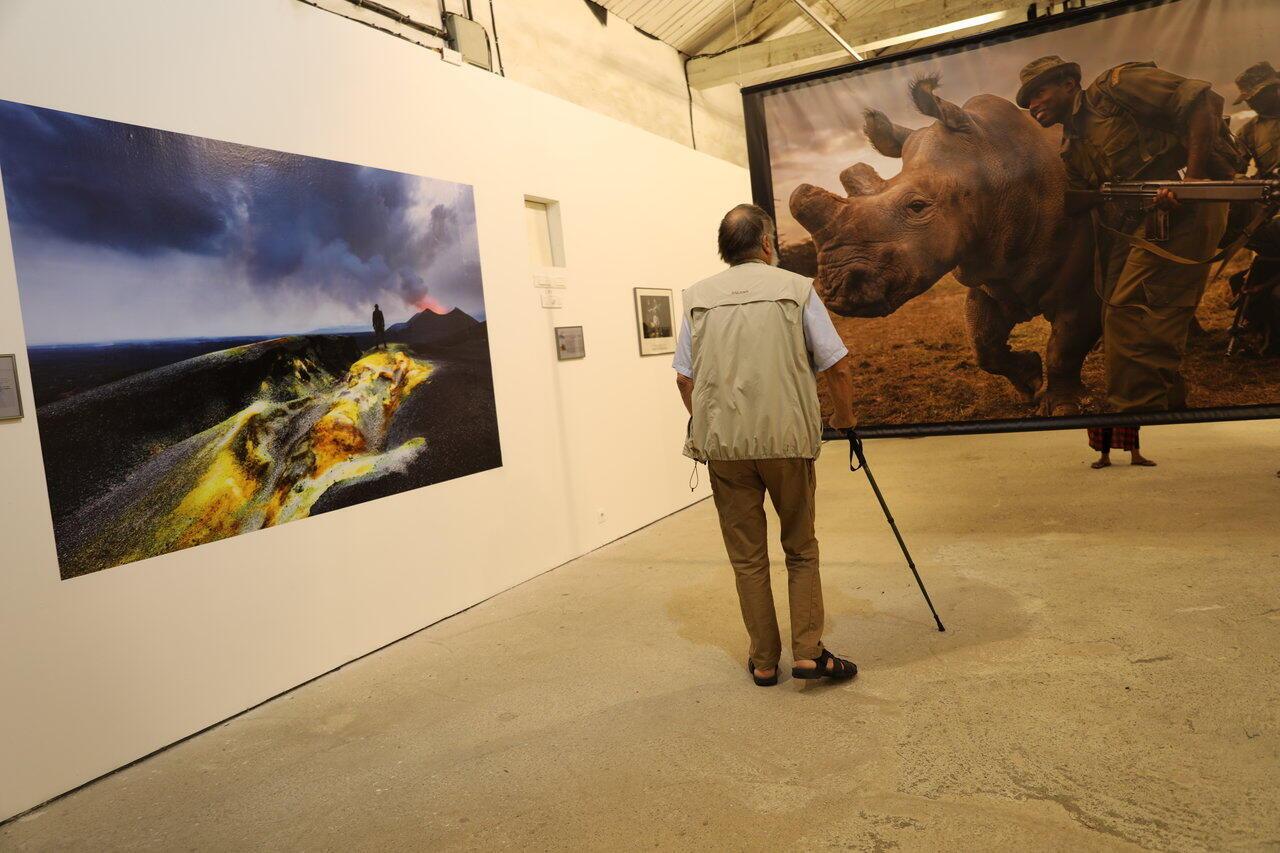 «Rangers», une rétrospective consacrée au travail du photojournaliste Brent Stirton ces dix dernières années en Afrique. Perpignan, jeudi 5 septembre 2019.