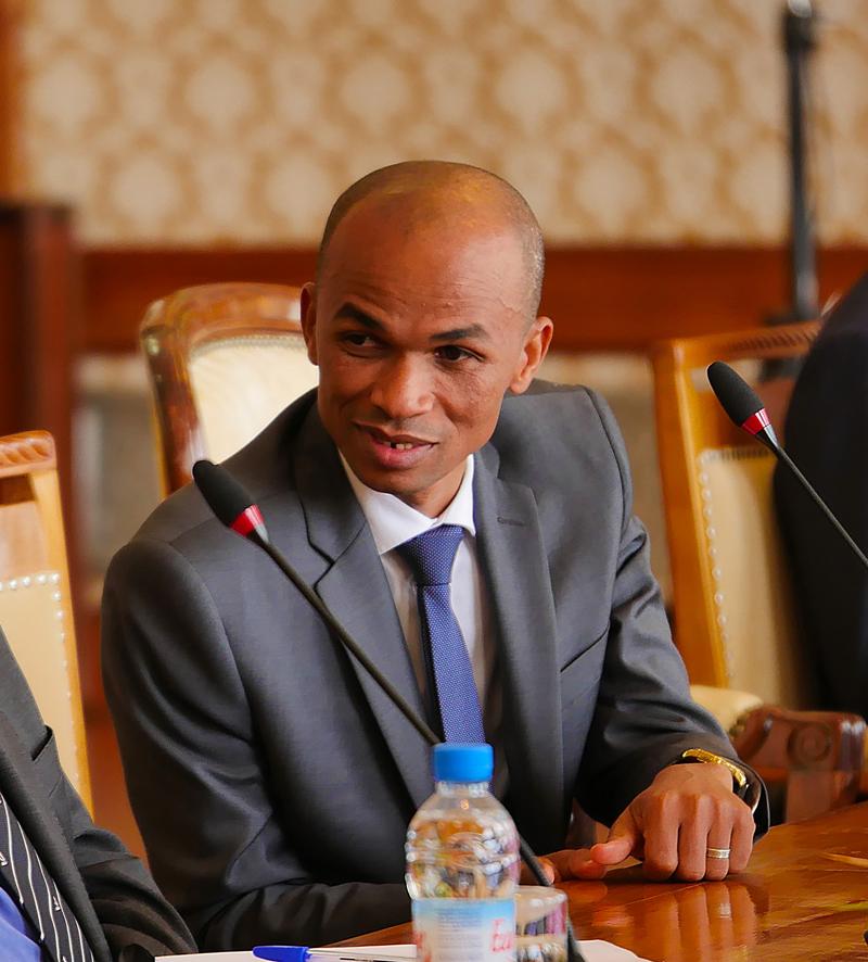 Dr. Abdoulkarim Mohamed, ministre comorien des Affaires étrangères.