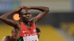 Thomas Longosiwa, mmoja wa wanariadha wa Kenya.