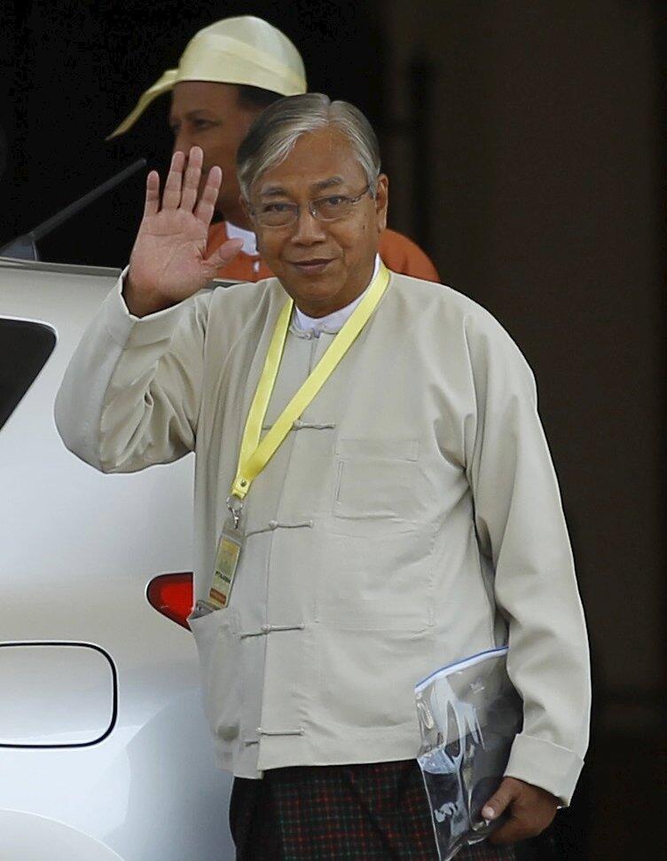 تین چیاوُ رییس جمهوری جدید میانمار