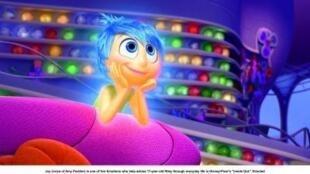 """Cena do filme """"Divertida Mente"""", a nova animação dos estúdios Pixar."""