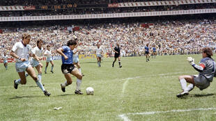 1986-07-22 Mexico City argentina diego maradona football world cup england