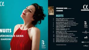 Album «Nuits», de Véronique Gens. Label alpha classics.